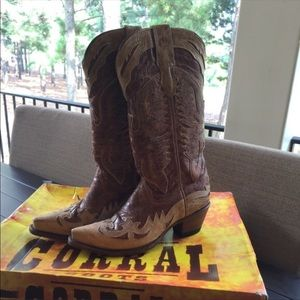 Corral Leather cowboy Boots